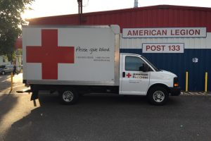 civic volunteerism, red cross, american legion, blood drive